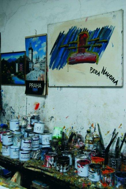 Atelier di Alessandro. Foto di Angela Beninati