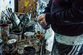 Atelier di Alessandro, particolare. Foto di Ginevra D'Archi