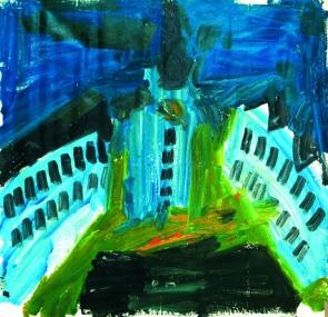 Bratislava 1 • 2010 • olio • cm 150x150