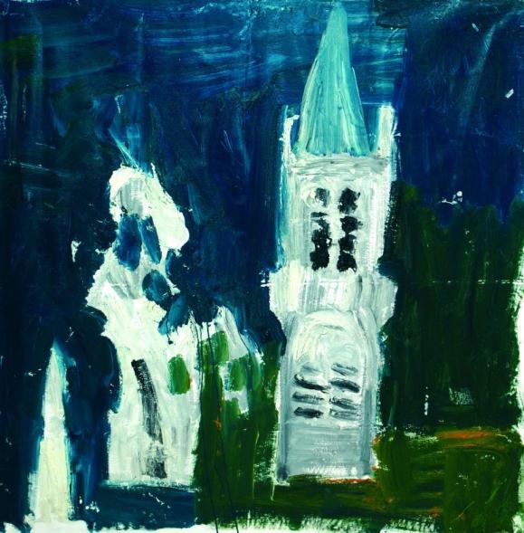 Bratislava 3 • 2010 • olio • cm 150x150
