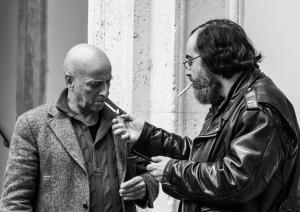 Enrico Mascelloni (critico e storico dell'arte), Alessandro Vignali. Foto di Ginevra D'Archi