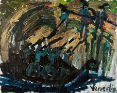 Venedig • 1999 • olio/acrilico/pigmento • cm 80x100